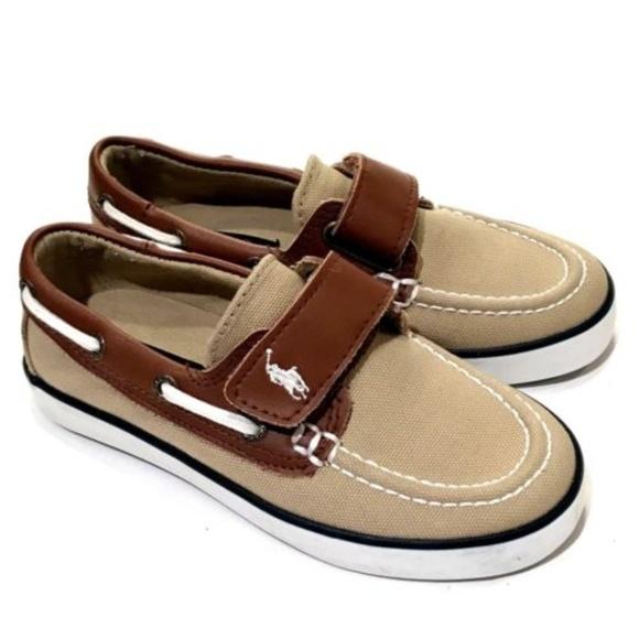 12018168e Polo Ralph Lauren Kids Sanders-CL EZ Sneakers Tan.  M_5a8f740ad39ca253f2083cd5